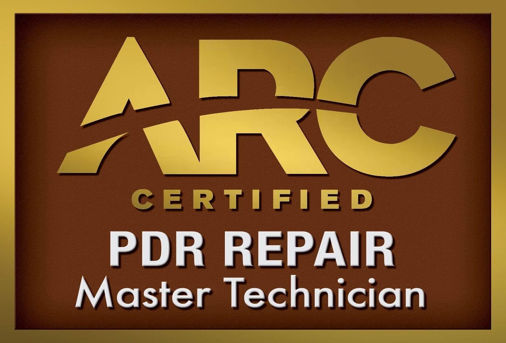 Villa Park Paintless Dent Repair CERTIFIED by ARC